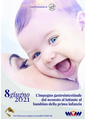 L'impegno gastrointestinale dal neonato al lattante al bambino della p...