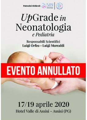 UpGrade in Neonatologia e Pediatria...