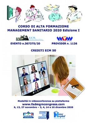Corso di Alta Formazione in Management Sanitario 2020 I edizione...