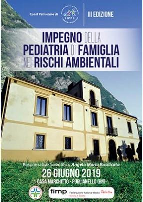 3 edizione impegno della pediatria di famiglia  nei rischi ambientali