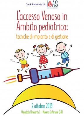 L'accesso venoso in ambito pediatrico: tecniche di impianto e di gestione...