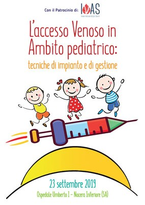 L'accesso venoso in ambito pediatrico: tecniche di impianto e di gestione