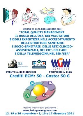 Total Quality Management, OTA, valutatori, expertiser, accreditamento ...