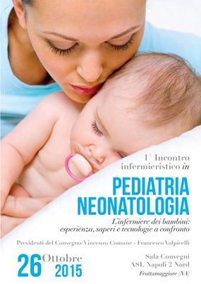 1 Incontro Infermieristico in Pediatria e Neonatologia