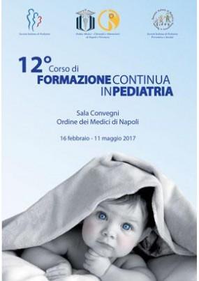 12 Corso di formazione Continua in Pediatria