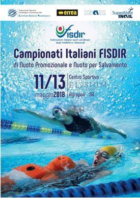 Campionati Italiani FISDIR di nuoto promozionale e nuoto per salvamento