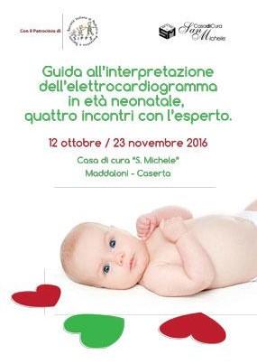 Guida alla interpretazione dell elettrocardiogramma in età neonatale, quattro incontri con l'esperto.