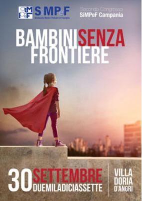 Secondo Congresso SIMPEF Campania. Bambini senza frontiere