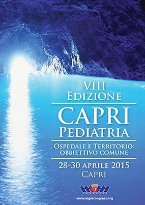VIII Edizione Capri Pediatria. Ospedale e territorio: obbiettivo comune
