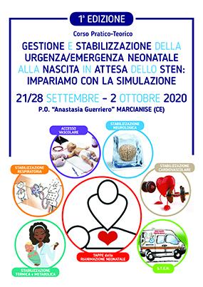 Corso Pratico-Teorico. Gestione e stabilizzazione della urgenza/emergenza neonatale alla nascita in attesa dello Sten: impariamo con la simulazione