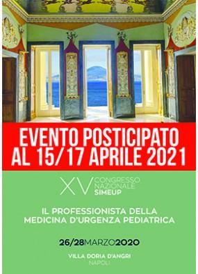 XV Congresso Nazionale SIMEUP Il professionista della medicina d'urgen...