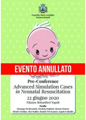 Pre conference Advanced Simulation Cases in Neonatal Resuscitation 202...